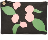 Clare Vivier Flat Canvas Clutch
