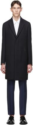 Ermenegildo Zegna Navy Couture Overcoat