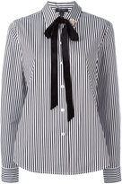 Marc Jacobs striped shirt - women - Cotton/Nylon/Rayon/glass - 4