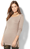 New York & Co. Empire Side-Zip Tunic Sweater