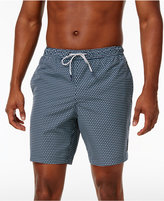 Michael Kors Men's Drawstring Circle-Print Swim Trunks, Only at Macy's