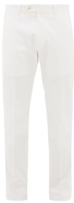 ODYSSEE Cotton-blend Chino Trousers - White