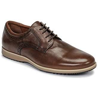 Geox Men's U Blainey B Derbys, Brown (Cognac C6001)