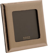 "Barneys New York Snake-Embossed 4"" x 4"" Picture Frame"