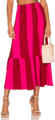MDS Stripes Knit Skirt