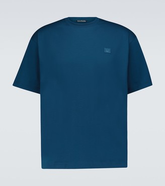 Acne Studios Exford Face Patch cotton T-shirt