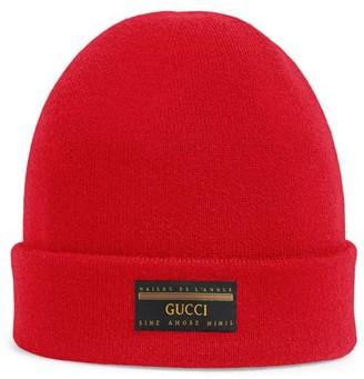 Gucci Patch Beanie