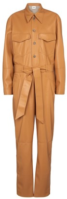 Nanushka Ashton faux leather jumpsuit