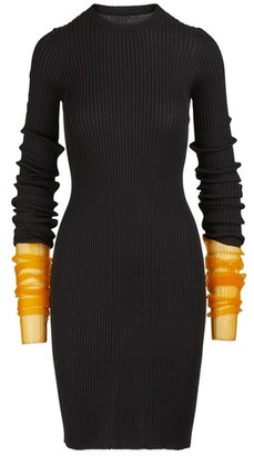 Maison Margiela Cotton jersey midi dress