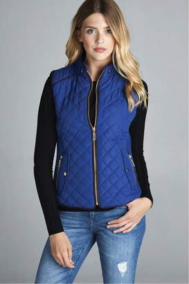 Active Basic Quilted Padded Vest