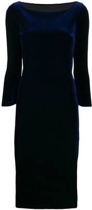 Chiara Boni Le Petite Robe Di long-sleeve midi dress