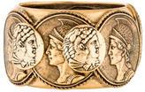 Oscar de la Renta Roman Cameo Cuff Bracelet