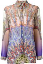 Etro Indian print shirt