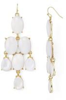 Aqua Cassandra Chandelier Earrings