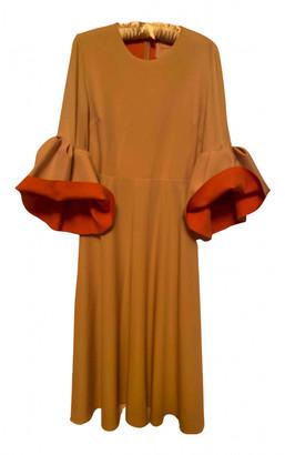 Roksanda Beige Silk Dresses