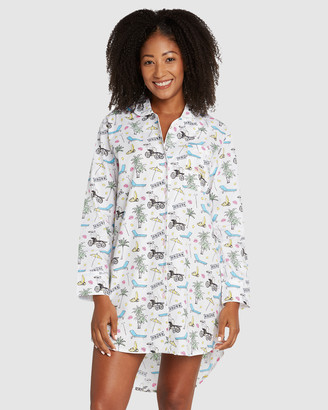 Sant and Abel Palm Springs Night Shirt