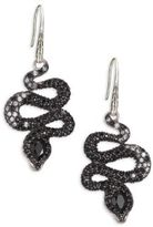 John Hardy Legends Cobra Semi-Precious Multi-Stone, Diamond & Sterling Silver Drop Earrings