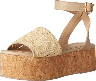 Kaanas Women's Tripoli Basketweave Platform Wedge Sandal