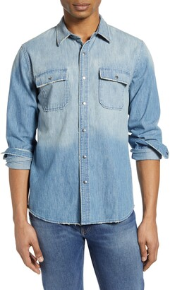 Frame Classic Fit Denim Button-Up Shirt