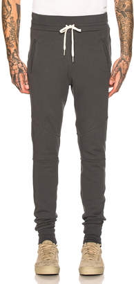 John Elliott Escobar Sweatpants in Charcoal | FWRD