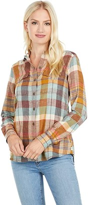 Toad&Co Re-Form Flannel Shirt (Breakwater) Women's Clothing