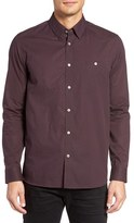Ted Baker Men's Pamplon Trim Fit Check Sport Shirt