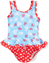 Flap Happy Somersault Sails Ruffle-Skirt One-Piece - Infant