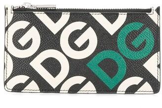 Dolce & Gabbana logo-print coin pouch