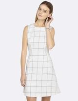 Oxford Finley Check Ponti Dress