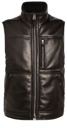 Tom Ford Shearling Leather Gilet