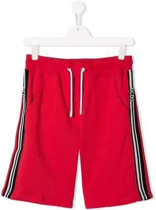 Gcds Kids TEEN side panelled track shorts