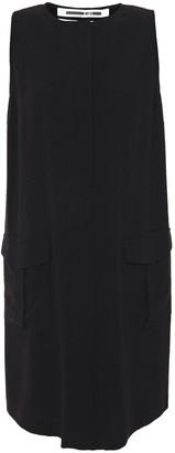 McQ Satin-crepe Mini Dress