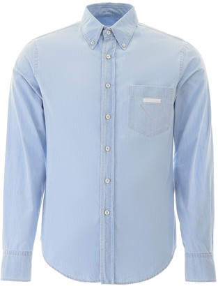Prada Breast Pocket Shirt
