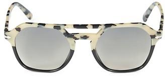Persol 51MM Aviator Sunglasses