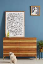 Anthropologie Prana Live-Edge Six-Drawer Dresser