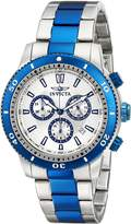 Invicta Men's Specialty Silver Dial Two Tone