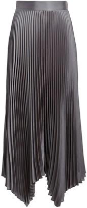 Intermix Bella Pleated Midi Skirt