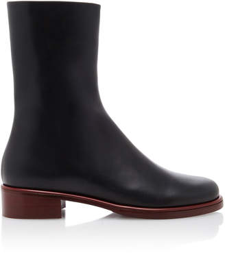 Marina Moscone Leather Chelsea Boots Size: 38