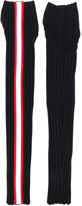 Calvin Klein Side Stripe Fingerless Gloves