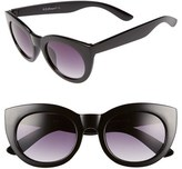 A. J. Morgan Women's A.j. Morgan 'Inga' 50Mm Sunglasses - Black