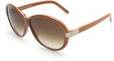 Chloé Brown Gradient Infinity Sunglasses