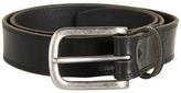 Johnston & Murphy Casual Double Buckle (Black) Men's Belts