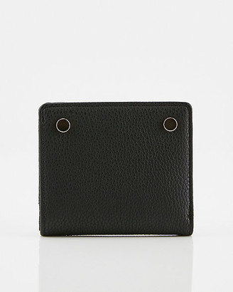 Le Château Pebbled Faux Leather Wallet