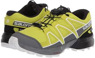 Salomon Speedcross CSWP (Little Kid/Big Kid) (Evening Primrose/Quiet Shade/Black) Kids Shoes
