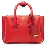 MCM 'X Mini Milla' Leather Tote - Red