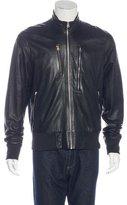 Paul Smith Leather Utility Jacket