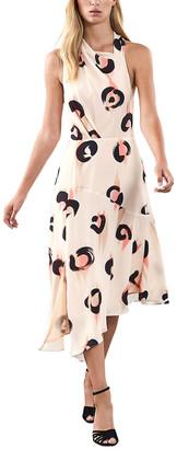 Reiss Roya Abstract Dress