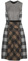 Etro Plaid wool dress