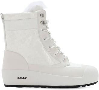 Bally 30mm Garbel Patent Leather Boots