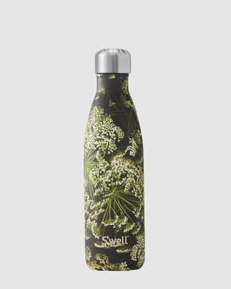 Swell Black Water Bottles - Insulated Bottle Flora & Fauna Collection 500ml Queen Ann's Lace - Size One Size at The Iconic